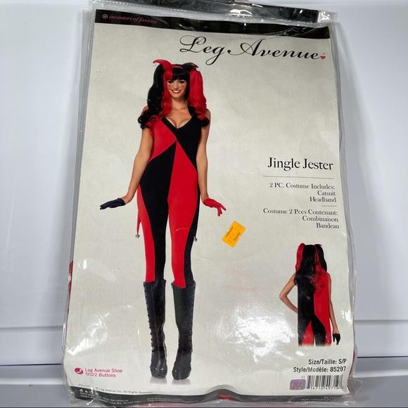 New! Jingle Jester Costume!
